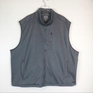 NWOT Izod Golf Performance Fleece Zip Up Vest 4XL